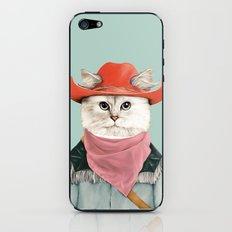 Rodeo Cat iPhone & iPod Skin