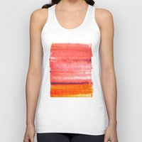 rothko Tank Tops featuring Summer heat by Picomodi