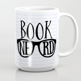 Book Nerd (lined paper) Coffee Mug