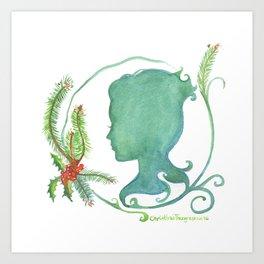 Winter Silhouette Art Print