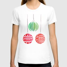 Christmat ornaments T-shirt