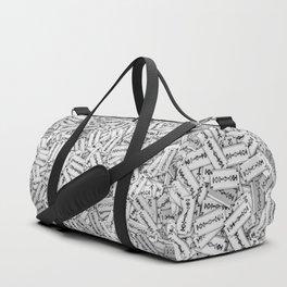 Razor blades Duffle Bag