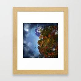 The Sky is Falling Framed Art Print