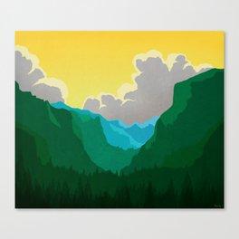 Wilkinson Mountain Pass Canvas Print