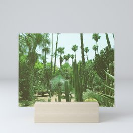 Tropical Cacti Gardens Mini Art Print