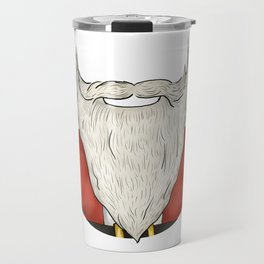 Santa Beard Travel Mug