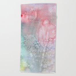 Frost bite Beach Towel
