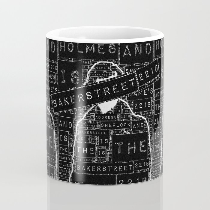 Sherlock BBC: Type Coffee Mug