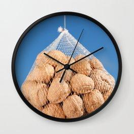 Bag of nuts Wall Clock