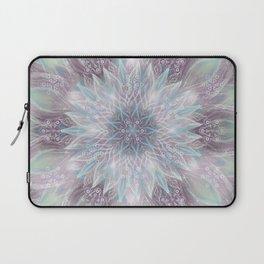 Lavender swirl pattern Laptop Sleeve