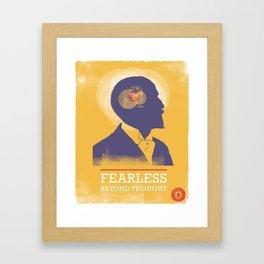 Fearless: Beyond Thought Framed Art Print