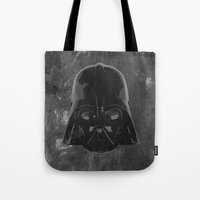 darth vader Tote Bags featuring Darth Vader by Some_Designs