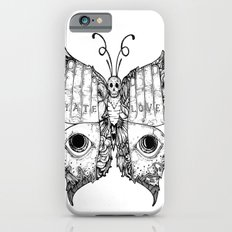 hate love butterfly iPhone 6s Slim Case