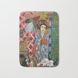 Ukiyoe-Me Bath Mat