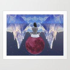 ..dreaming Art Print