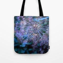 purple alliums Tote Bag