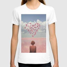 Au loin, far away T-shirt