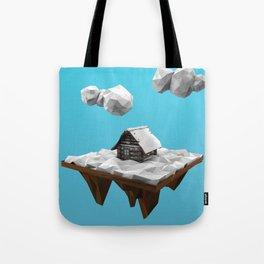 lowpoly winter Tote Bag