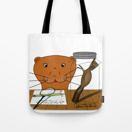 Homeschooling Oliver The Otter - The Cocoon  Tote Bag
