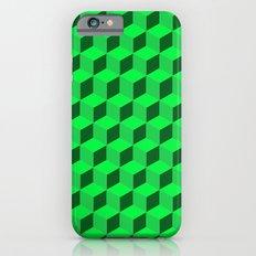 Geometric Series (Green)  Slim Case iPhone 6s