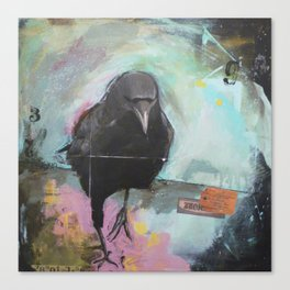 Crow2 Canvas Print