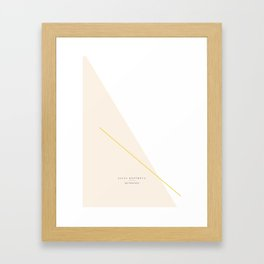 Sky - all Framed Art Print