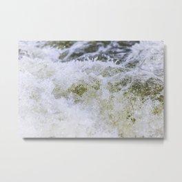 Turbulent Lake Water 11 Metal Print