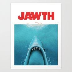 JAWTH Art Print
