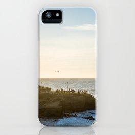 San Diego Beach Sunset Landscape in La Jolla iPhone Case