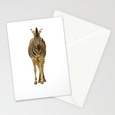 Zebra on White Stationery Cards