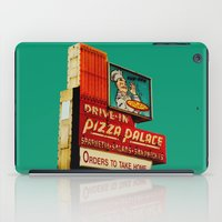 pizza iPad Cases featuring Pizza by Hazel Bellhop