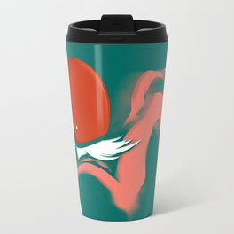 Moped Girl Travel Mug