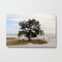 Peace Tree Metal Print