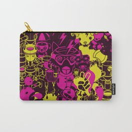 Dream Factory Pink and Yellow Carry-All Pouch