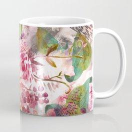 Animal flowers abstract Coffee Mug