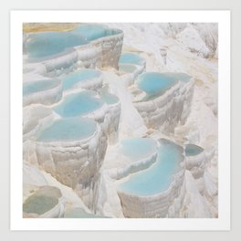 ancient calcium famous geological Art Print