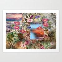 Tropical Summer Art Print