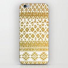 GOLDEN TRIBAL iPhone & iPod Skin