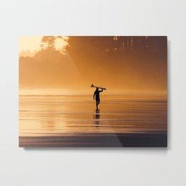 Surfer's Paradise Metal Print