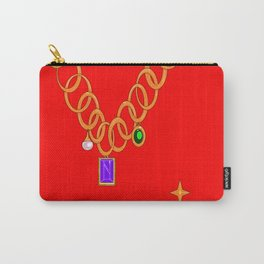 Necklace, bling, gems Carry-All Pouch