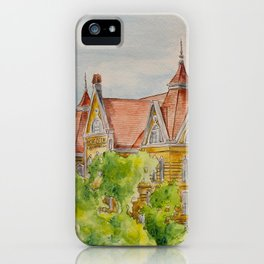 Texas State (SWT) University Old Main Building, San Marcos, TX iPhone Case