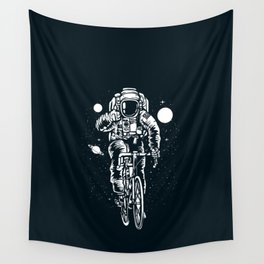 Crazy Astronaut Wall Tapestry