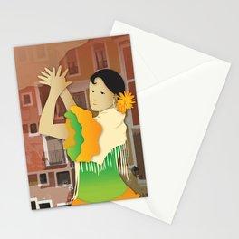 Hispanic Heritage Series - Espana Flamenco Dancer Stationery Cards
