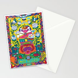 Unicorn Kwak Stationery Cards