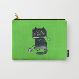 Programmer cat  makes a website Carry-All Pouch