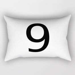 9 - Nine Rectangular Pillow