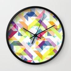 Aztec Geometric II Wall Clock