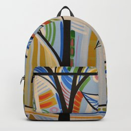 Abstract Art Landscape Tree Painting ... The Sound of Sunshine 2 Backpack