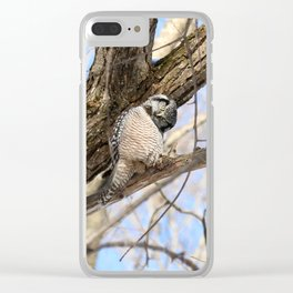 Sizing you up Clear iPhone Case