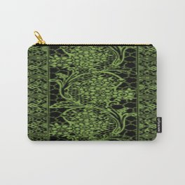 Greenery Lace Carry-All Pouch